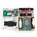 Weißes Kunststoffgehäuse für Schaltungen auf Arduino-Basis