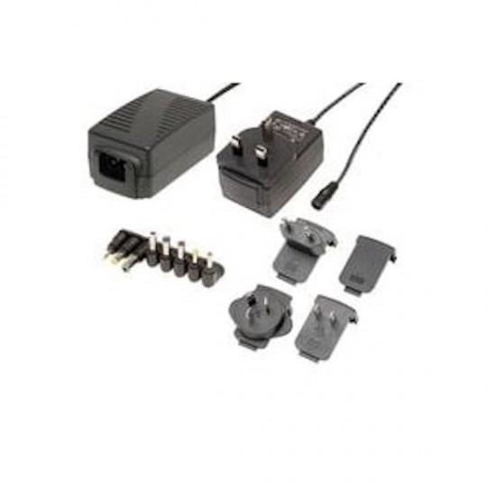 Interchangeable AC/DC Power Supply 5V 12.5W