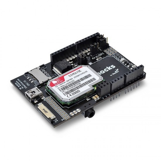 3G/GPRS/GPS-Shield für Arduino + Audio/Video-Set