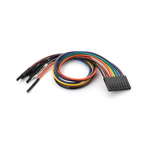 Logikanalyzer-Kabel Extra 9-Wire Bundle