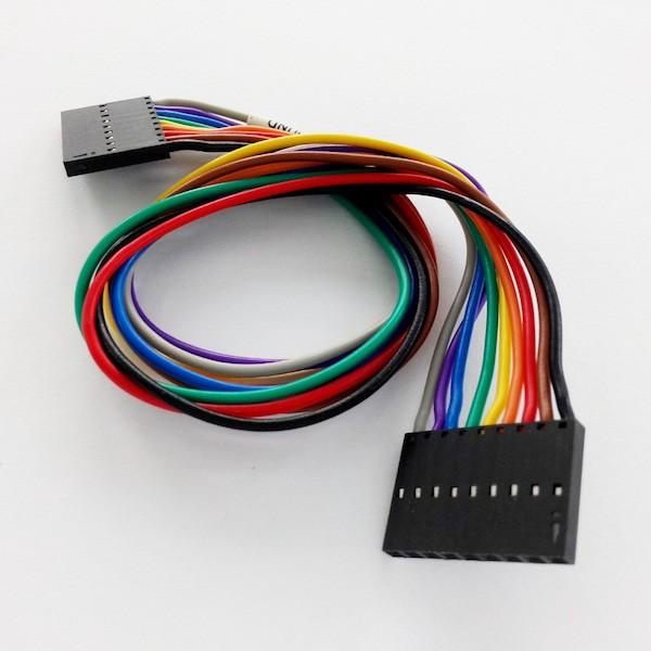 Connecteur d'extension format IDE 1x9 pour analyseurs logiques Saleae Logic et Logic16