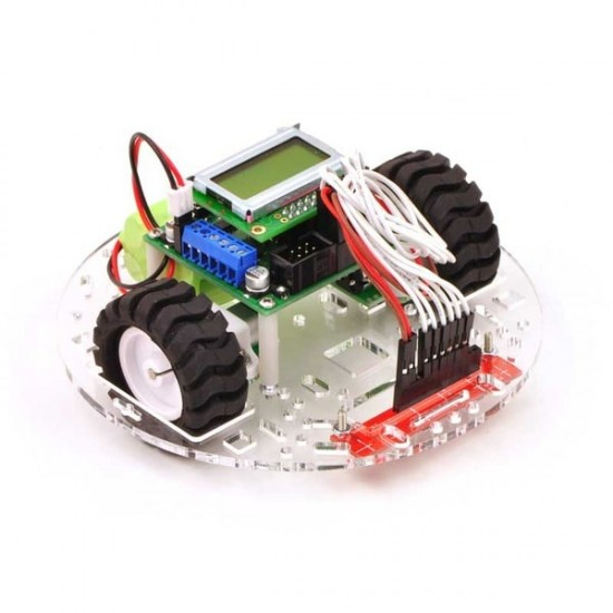 Transparent Chassis for Mobile Robot Pololu