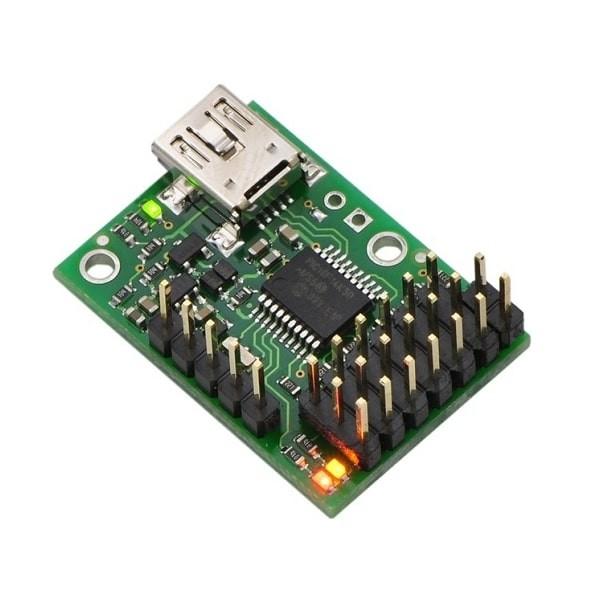 USB Servomotorkontroller Micro-Maestro 6-Kanäle von Pololu