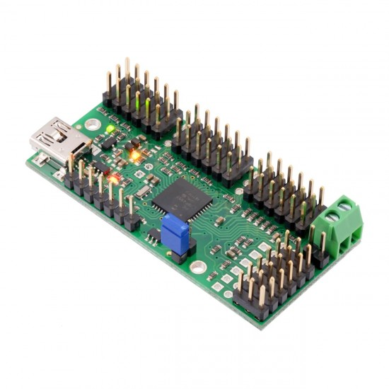 Contrôleur Servomoteurs USB Pololu Mini Maestro 24-Canaux