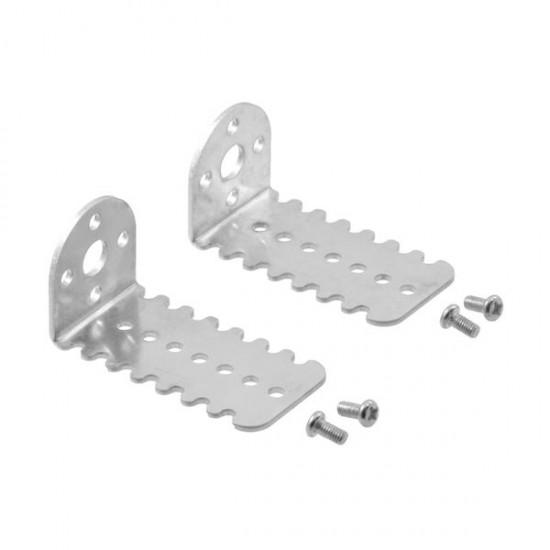 Metallhalterungen für Getriebemotor 25D Pololu