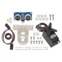Capteur sonar ultrasons PING))) avec kit de montage et servomoteur
