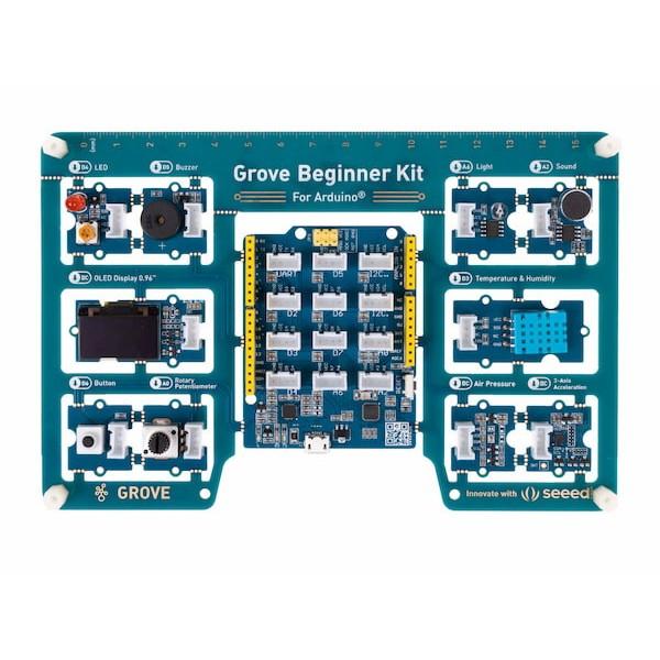 Kit Grove du débutant (carte compatible Arduino incluse)