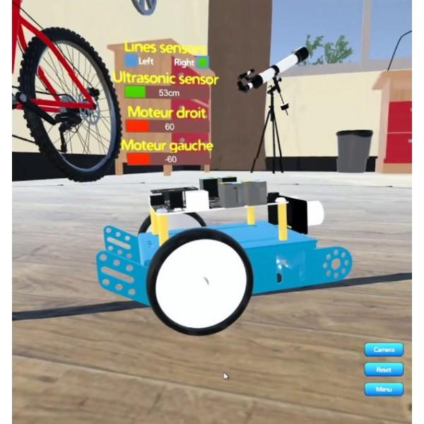 Logiciel mBot Simulator - licence établissement