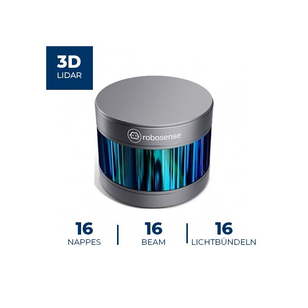 Télémètre Laser 3D RS-LIDAR-16 Robosense