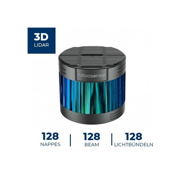 Télémètre laser 3D RS-Ruby Robosense (LiDAR)