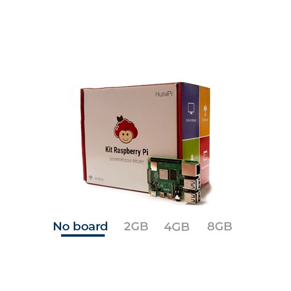 Starter Kit officiel Raspberry Pi 4 -