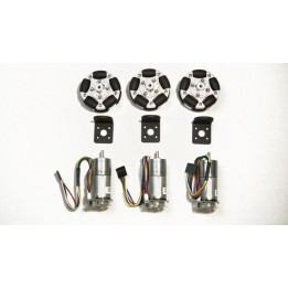 58mm Omnidirectional Wheel Chassis Smart Car Chassis Kit
