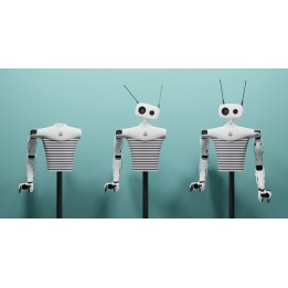 Robot humanoïde modulable Reachy
