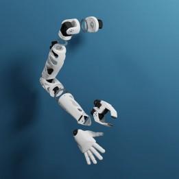 Reachy Modular Humanoid Robot