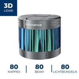 Télémètre laser 3D RS-Ruby-Lite Robosense (LiDAR)