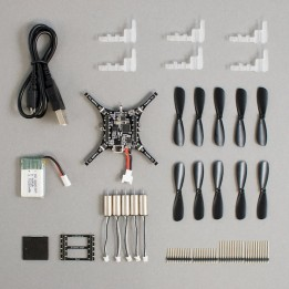 Nano-drone programmable Crazyflie 2.1 - STEM drone bundle