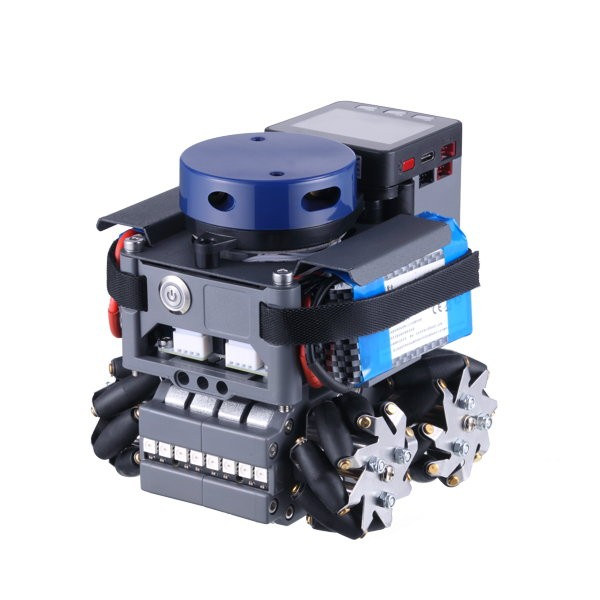 Base mobile Lidarbot Odos avec roues Mecanum
