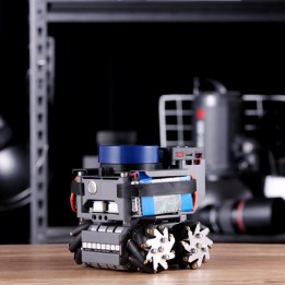 Lidarbot Odos open-source mobile base with Mecanum wheels
