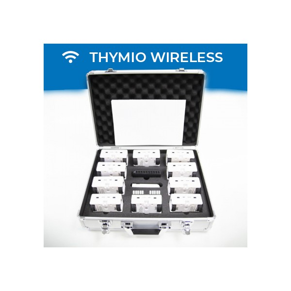 Thymio robotics pack (wireless version) - 4 to 10 robots