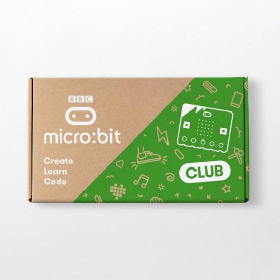 10 BBC micro:bit Club Kits mit Kabeln und Batterien