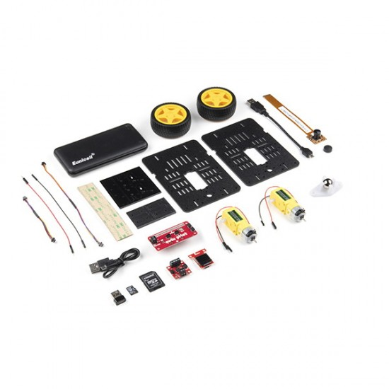 JetBot AI Kit v3.0 (carte Nvidia Jetson Nano non incluse)
