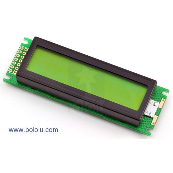Backlight 16x2 LCD screen