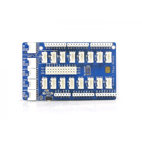 Connection shield for Arduino Mega board
