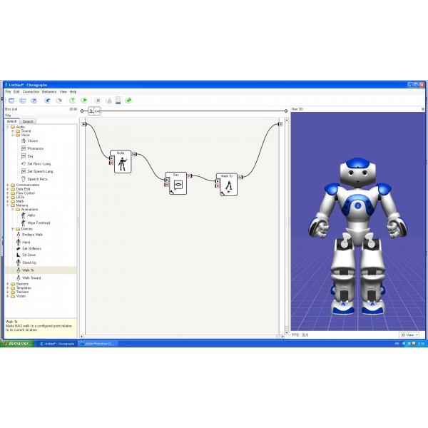 Software-Suite für programmierbaren humanoiden Roboter NAO ...