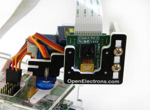 Pi pan ein pan & tilt aufsatz für die raspberry pi kamera