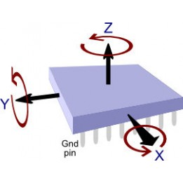 3-Achsen-Gyroskopmodul L3G4200D