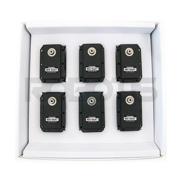 Pack de 6 servos Dynamixel MX-64AT