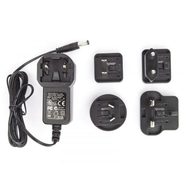 Multi Plugs (UK/US/EU/AU) 9V Power Supply for Arduino Robot