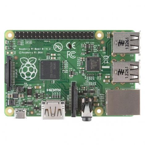 Modell B+ Raspberry Pi