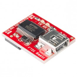 FTDI 3,3 V Basic Breakout Board mit Mini-USB-to-Serial Kabel