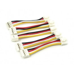 Câbles 4 pins Grove 5cm (Pack de 5)
