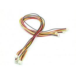 Câbles 4 pins Grove 50cm (Pack de 5)