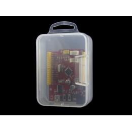 Plastic storage box - transparent