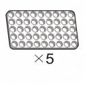 Pack of 5 OLLO 5×9 White Panels