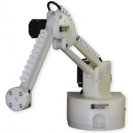 R0 robot arm with 3 degrees of movement