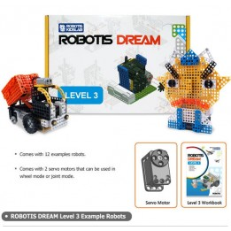 kit éducatif ROBOTIS DREAM Niveau 3