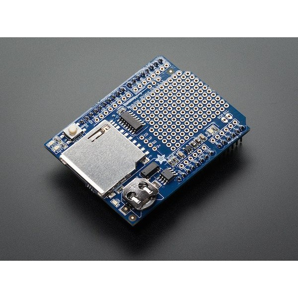 Shield de collecte de données intégré Adafruit pour Arduino