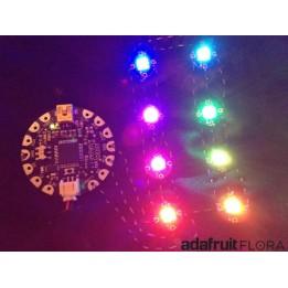 Arduino-Compatible Flora Wearable Electronics Platform