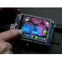 "PiTFT – 2.8"" 320 x 240 TFT Display Module + Touchscreen for Raspberry Pi"