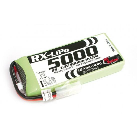 Batterie Lipo 5000 mAh régulé 10A