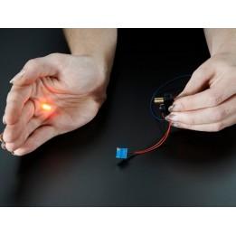 Capteur de détection avec faisceau laser