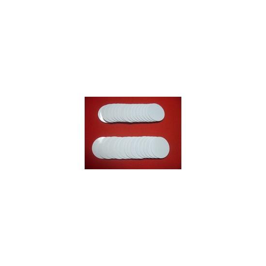 Tag PVC RFID Blanc