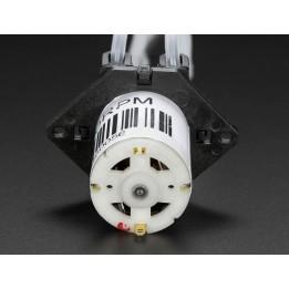 Pompe à liquide péristaltique avec tube silicone