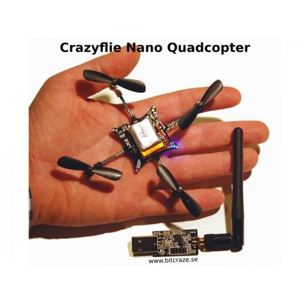 Crazyflie Nano Quadcopter Kit 10-DOF with Crazyradio (BC