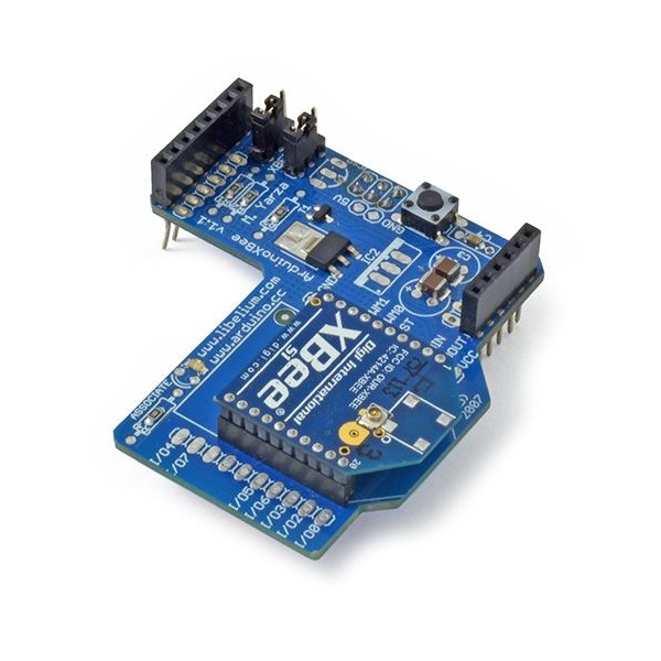 Communication Shield (XBee, Bluetooth, RFID) – XBee Shield