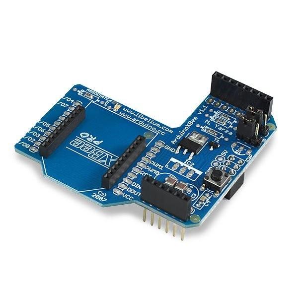 Communication Shield ohne XBee Module (XBee, Bluetooth, RFID)